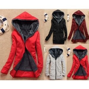 Winter Women Thicken Warm Coat Hooded Parka Ladies Long Jacket Overcoat Outwear