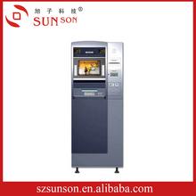NCR ATM makinesi nakit yatırma, kart okuyucu, metal tuş takımı, termal  yazıcı