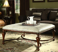 Traditional Square Ottoman Table in American Style BF11-0605a