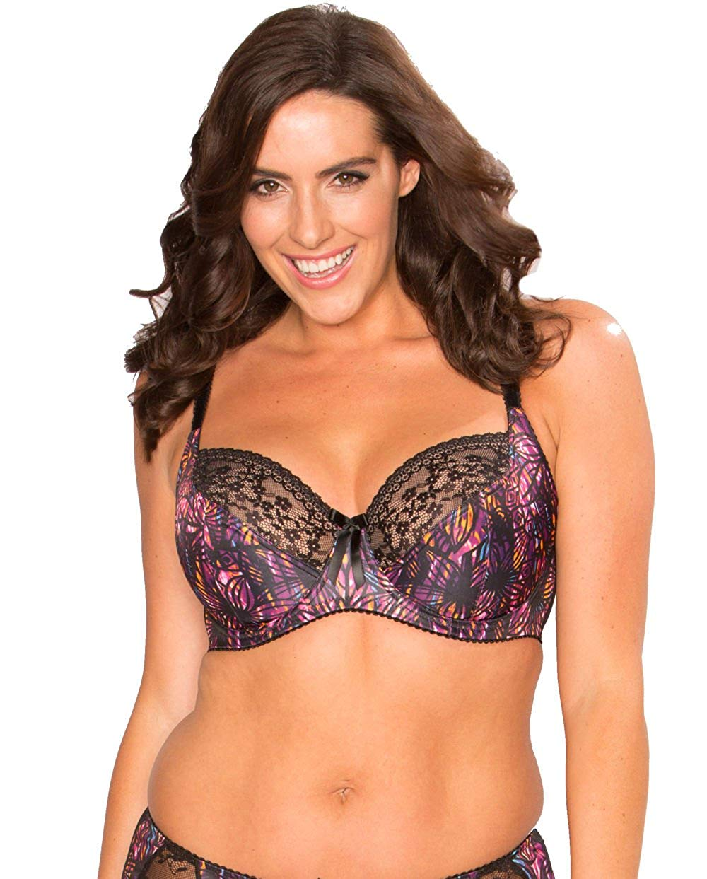 26f5b2a8f021 Get Quotations · Pour Moi Madison 12002 Underwired Balcony Balconette Non Padded  Bra US