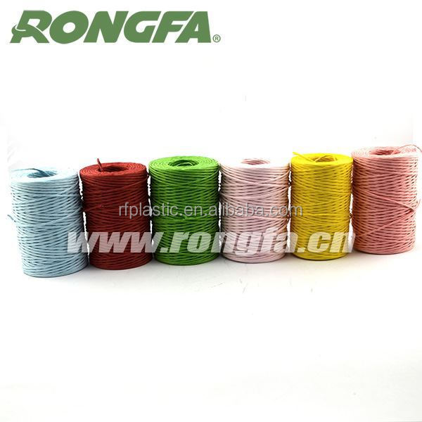 wholesale multicolor make paper rope (inside has iron wire)