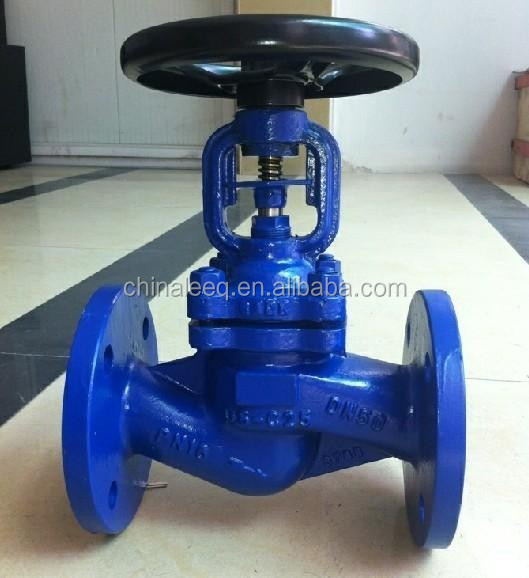 stainless steel ss304 ss316 bellow seal globe plug valve