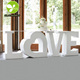 High Quality Custom Love Letter Wood Wedding Table