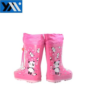 print cute rain boots gumboots for kids