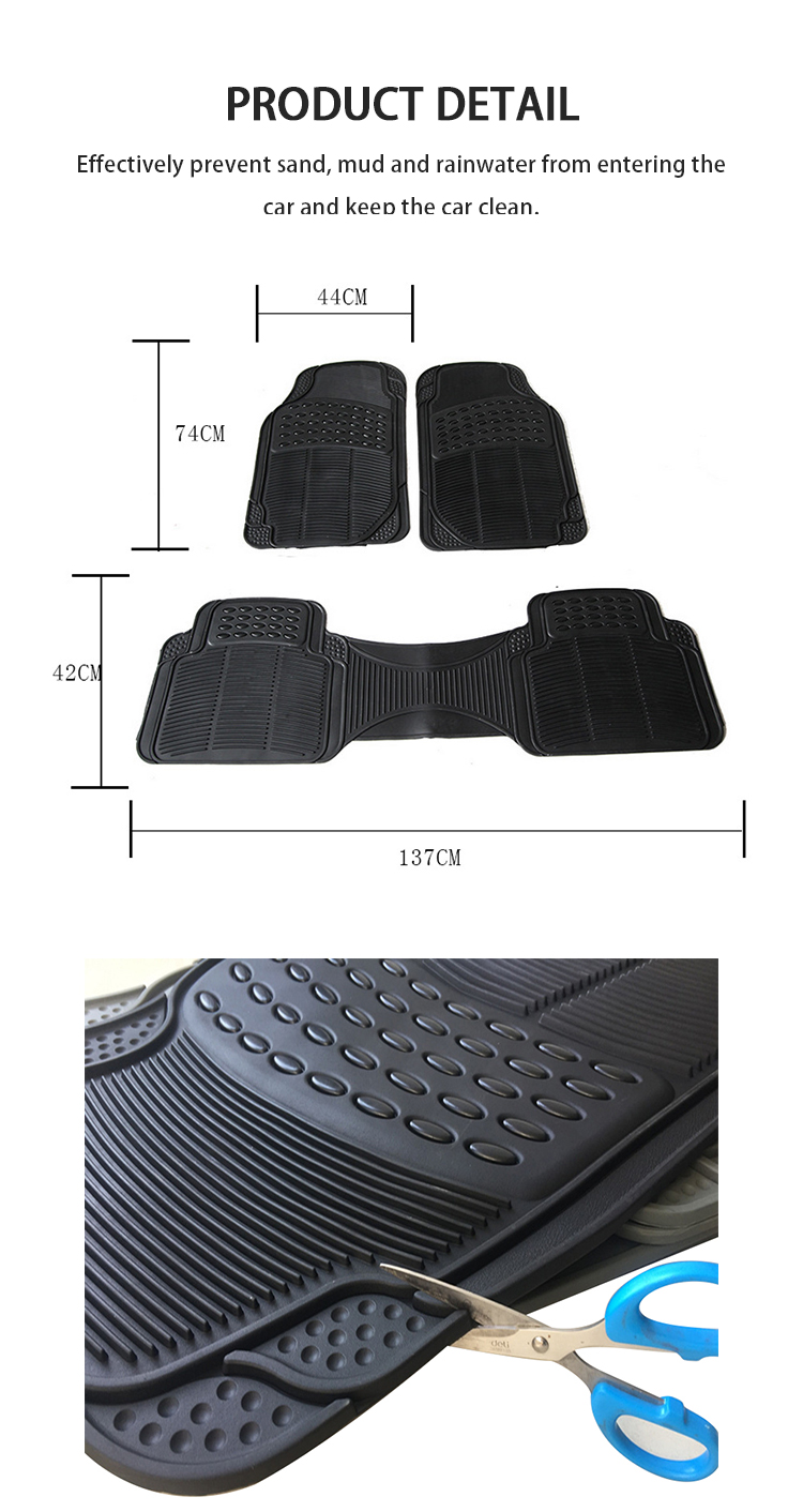 JD-S-010 High quality newly PVC car mats