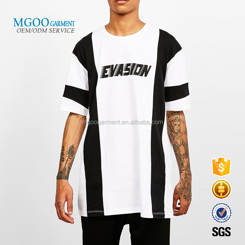 MGOO Garment OEM ODM Fast Fashion Clothing 100% Cotton Plus Size Mens Custom Printed T-shirts With Own Label