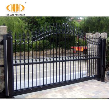 Custom Front Gate Design Main Sliding Steel Fence Gate Buy Front