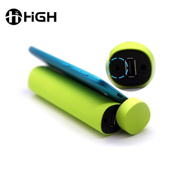 Factory price mobile stand 4000mAh wireless portable mini music player speaker with power bank