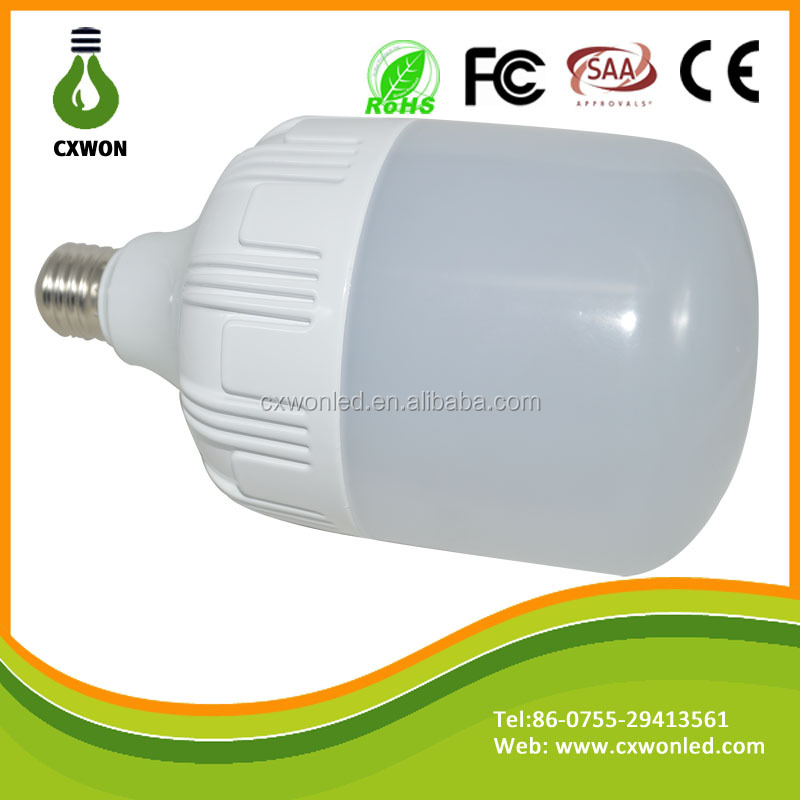 Professional manufacturer Energy Saving 20w 30w 40w big led light bulb with low Price