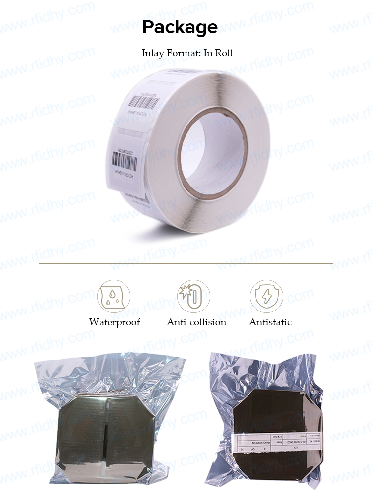 Competitive Price Customized Rewritable RFID Sticker for Library Management System