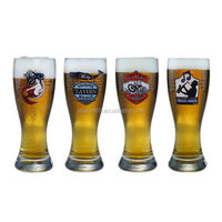 beer glasses personalized pilsner beer glass 250ml cheap beer glasses with logo