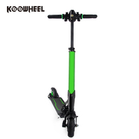 Self balancing two wheeler electro scooter electric foldable carbonfiber adult scooter