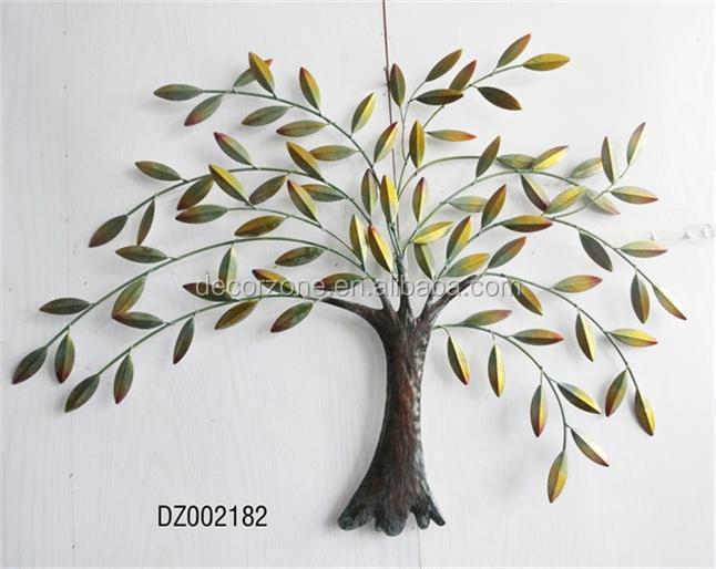 metal tree and leaf wall decor art buy metal leaf wall art iron tree wall art trees and leaves. Black Bedroom Furniture Sets. Home Design Ideas