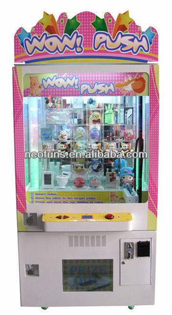 Игровые автоматы вытолкни приз игровые автоматы терминалы онлайн