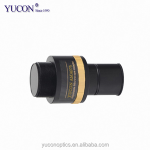 YCAMA075 C-mount camera adapter for biological zoom stereo microscope binocular eyepiece tube