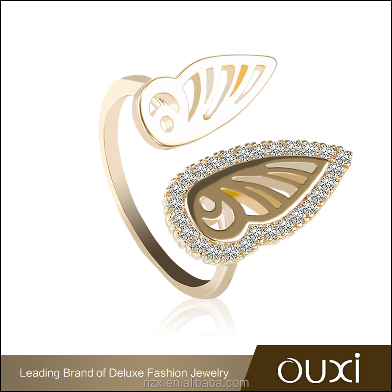 OUXI 2017 wholesale price latest design dubai gold engagement rings gold design for girls C40059