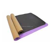 Eco-friendly Fitness TPE Yoga Mat 6mm Thick