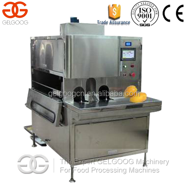 Automatic Stainless Steel Peach Apricot Peeler Machine Mango Peeling Machine