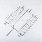 BBQ Rotisserie Wire Grilling Vegetable Fish Basket
