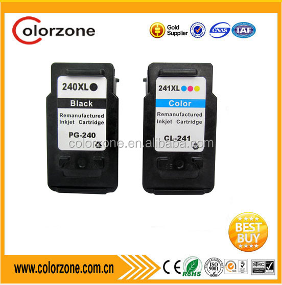 Compatible Printer ink PG-240XL CL-241XL ink cartridge for canon 240 241