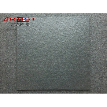 Pakistan Matte Black Ceramic Tile Non Slip Bathroom Floor Tiles