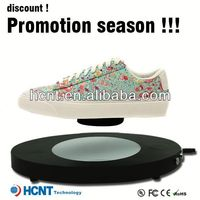 new invention ! magnetic levitating led display stand for shoe woman,wholesale shoes new york