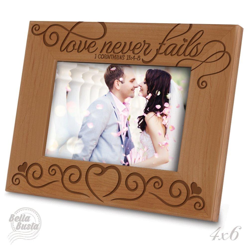 Buy Love Never Fails 1 Corinthians 134 8 Bible Verse Engraved