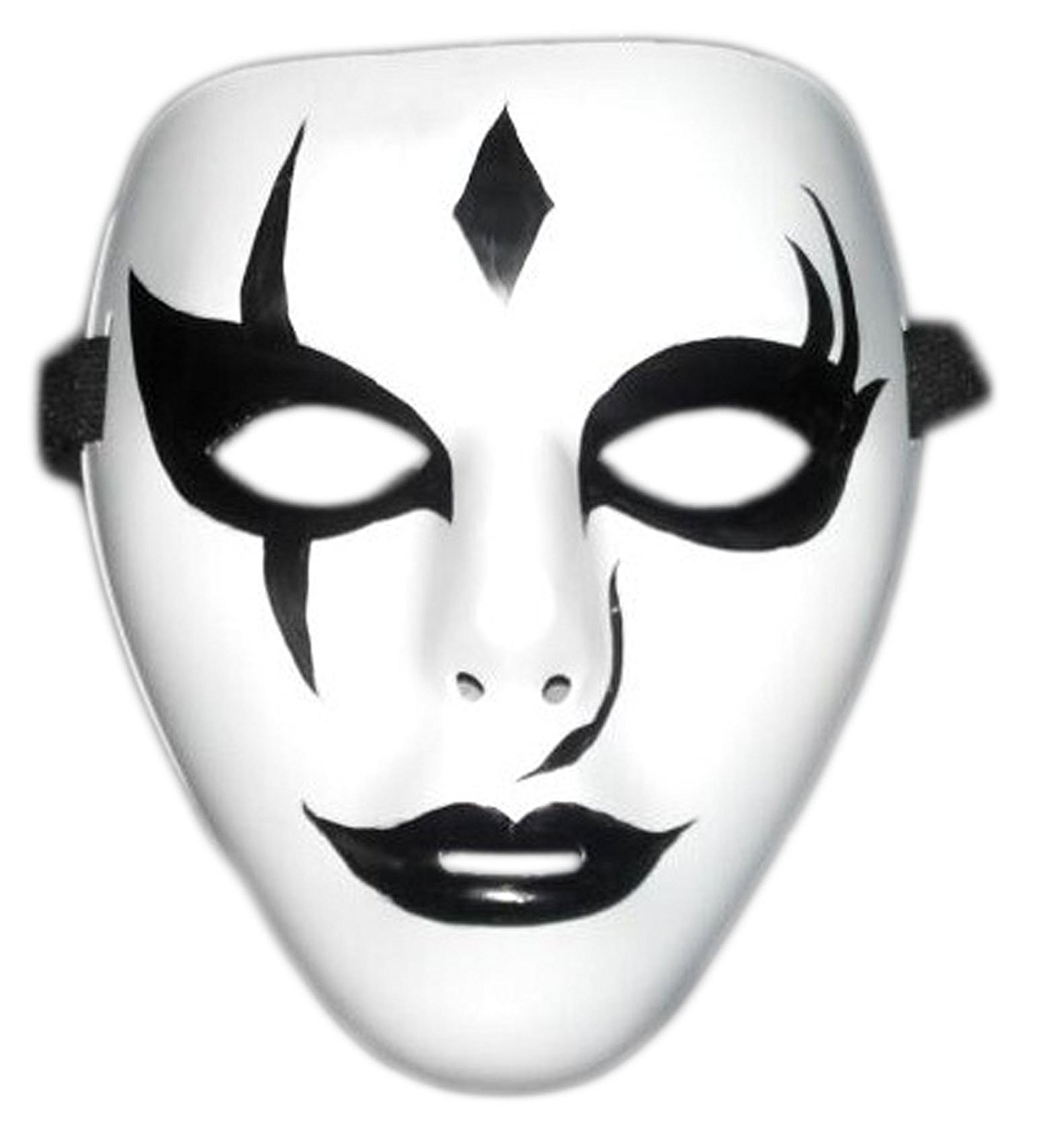 Buy Ilucky Halloween Mask Hand-drawing Mask for Women 2 in Cheap ... 533c85fd84