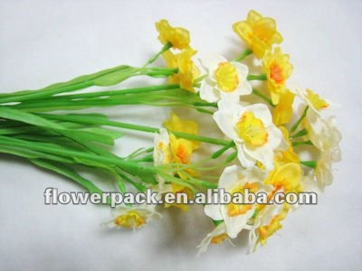 artificial daffodil deco flowers