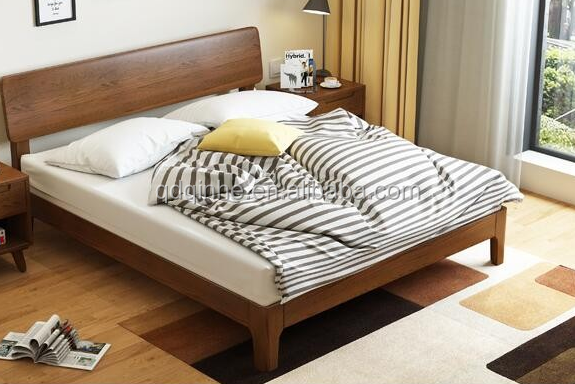 Simple bed designs home design Design of double bed