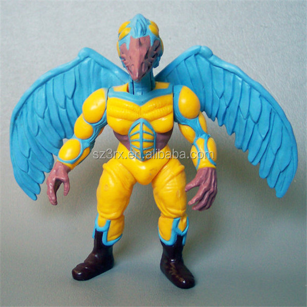 China Factory Wholesale Eagle Figurines Toys/Custom PVC Action Figure Toys Manufacturers/OEM Plastic Figures Toys