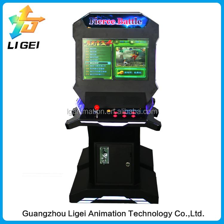 Newest Multi Arcade Cabinet Fighting Redemption Video Game Pandora ...