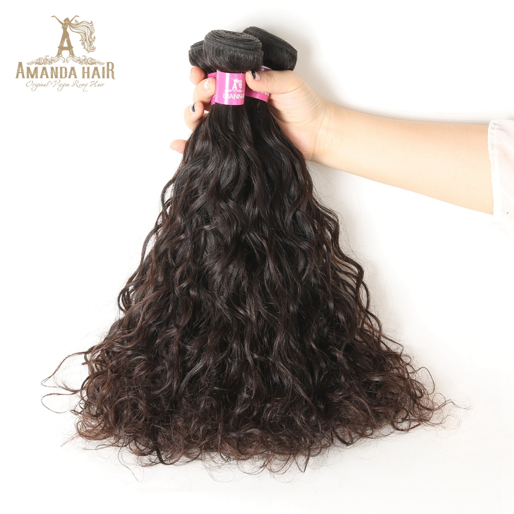 8a3726c323 Popular Cambodian 100% Human Hair Water Wave No Tangle No shedding Wet And  Wavy Hair