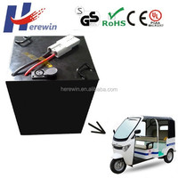 deep cycle electric car 60v 80ah LiFePO4 bms 60volt lithium battery pack
