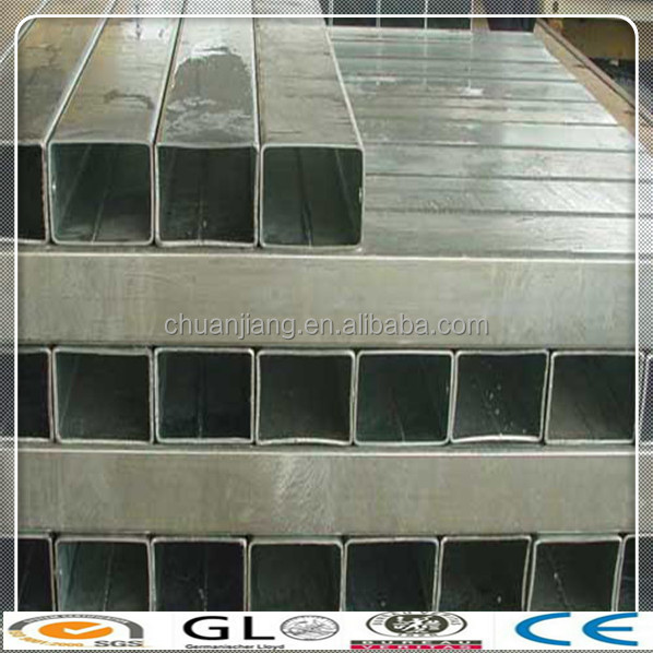 cold rolled steel square tube with holes on shopping website/construction building material square pipe for China products