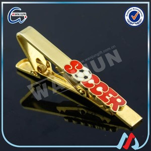 tie clip parts with custom logo