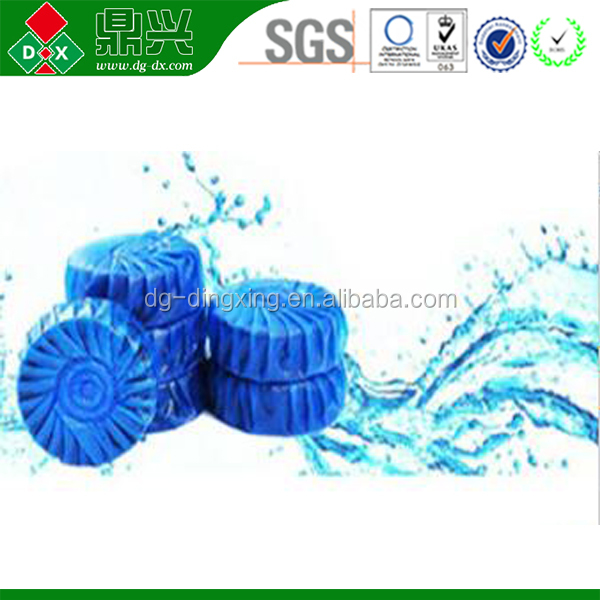 Blue Toilet freshener block