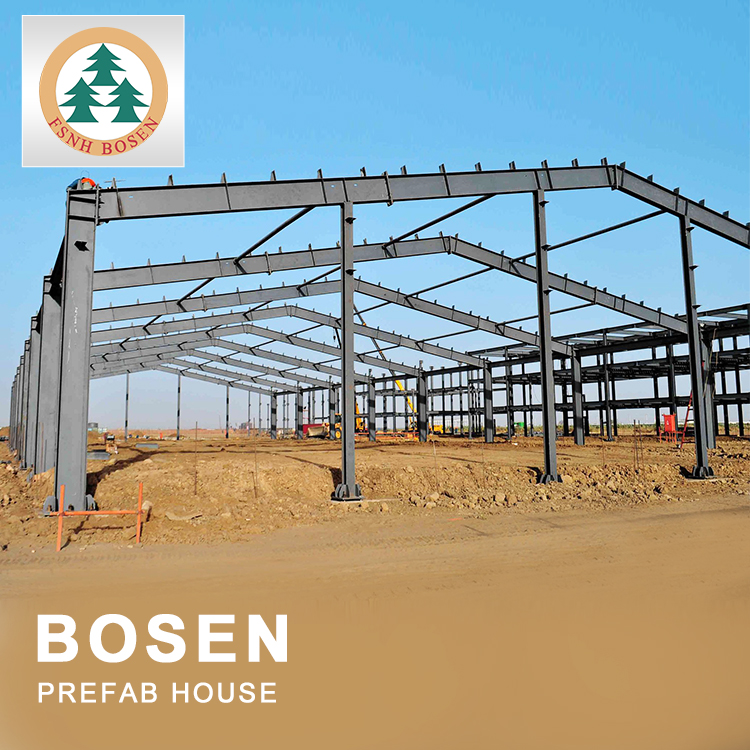 Quality Guaranteed Steel Structure Frame Construction Prefabricated Steel Roof Frame