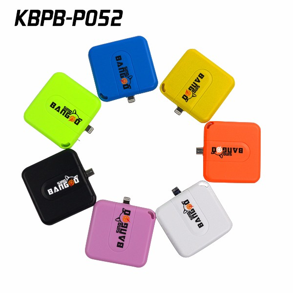 High quality disposable charger 1000mAh power bank