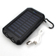 2019 Travel new design hot sale power banks LED lightings 16000mah solar power bank waterproof powerbank for mobile phone
