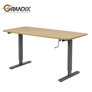 MultiTable Hand Crank Height Adjustable Standing Desk Base - Frame Only