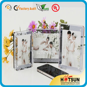 Shenzhen acrylic factory specialized picture photo frame