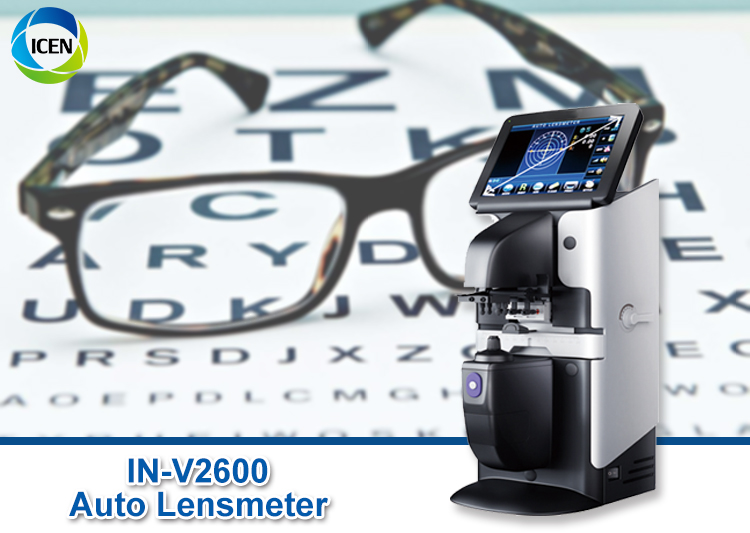 IN-V2600A Optometry Equipment Digital Lensometer Focimeter Auto Lensmeter Price