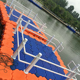 High quality plastic platform floating water deck