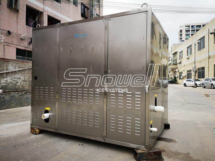 Industriële Fabriek Prijs Automatische Making Maker Plant 1 Tot 20 Ton Big Ice Cube Machine