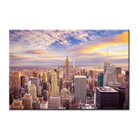 Home Decor Wall Pictures for Living Room the New York City Landscape Empire State Building HD Giclee Canvas Printed Painting