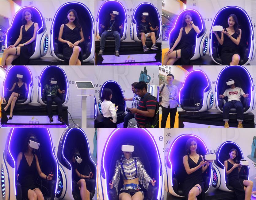 Taman Hiburan Virtual Reality Aliansi Peralatan 2018 Mesin Vr 9d Cinema Simulator VR Kursi untuk Dijual