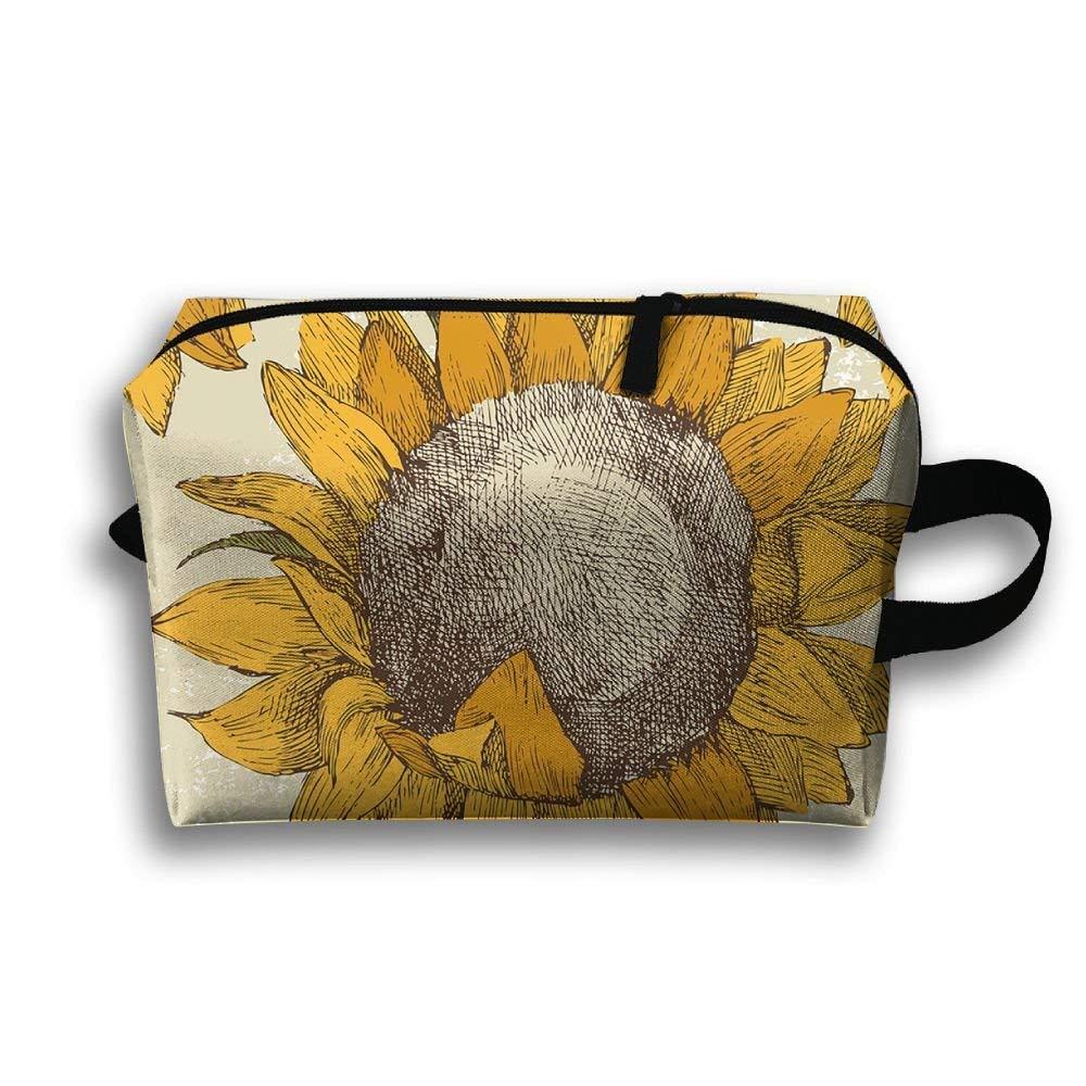 EAUSHAK Sunflower Multi-function Travel Document Receipt And Printing Receipt/package(full Range)