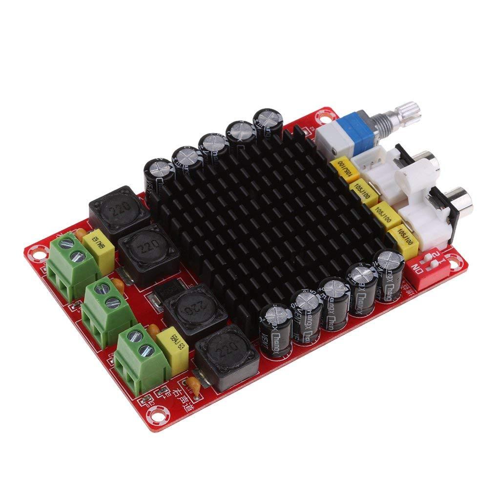 Homyl Dual Channel Audio Stereo Amplifier Board XH-M510 TDA7498 DC 14-32V Amplifier Board of Class D 2X100W