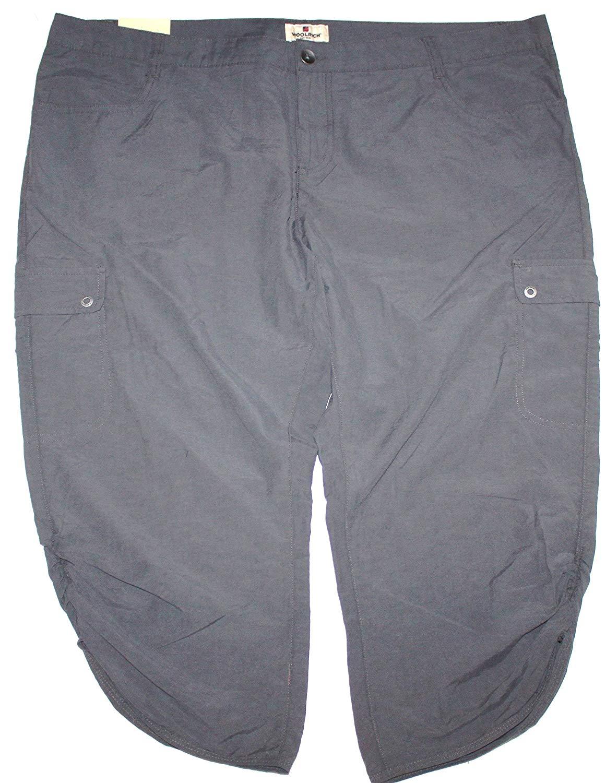 972c57f1fd0 Get Quotations · Woolrich Women s Hiking Capri Cargo Pants